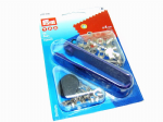 Eyelets with Tool: Prym 542400 - Silver - 4mm - 50 sets